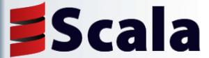 Scala programming language logo